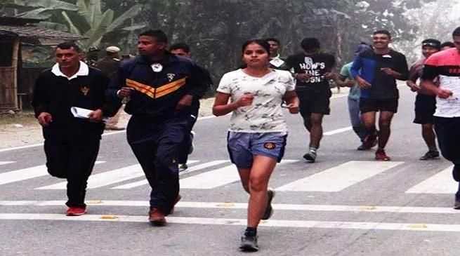 Assam: Indian Army organised mini marathon at udalguri