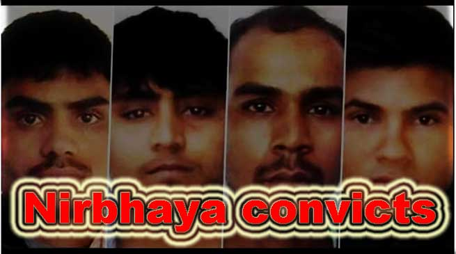 Nirbhaya case: convicts to be hanged on Feb 1, 2020