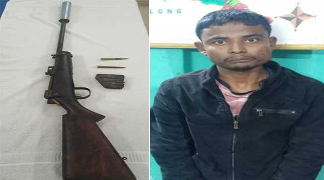 Assam: Poacher arrested, Arms recovered from Kaziranga