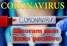 Coronavirus: Mizoram man tests positive for Covid-19