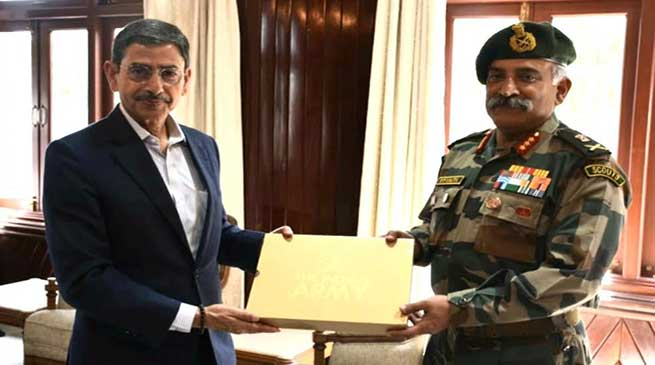Nagaland: GOC Spear Corps calls on the Governor