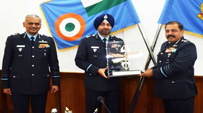 Air Force Station Tezpur awarded trophy of Best Flying Station