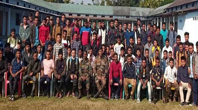 Army assists in securing future of 52 Youths of Upper Assam