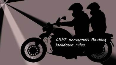 Assam:Police seize bike used by two CRPF personnel in civvies for flouting lockdown rules in Hailakandi