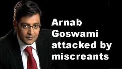 Mumbai: Arnab Goswami attacked by miscreants
