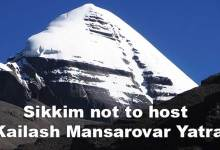 Sikkim not to host Kailash Mansarovar Yatra