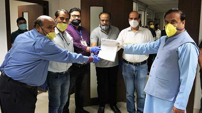 Fight against Coronavirus: KCC Contributes over Rs 61 lakhs to CMRF and ANF