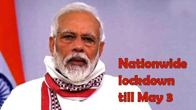 Prime MinisterNarendra Modi today extended the nationwide lockdowntill May 3