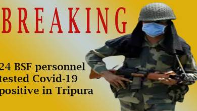 Tripura- 24 BSF personnel tested Covid-19 positive