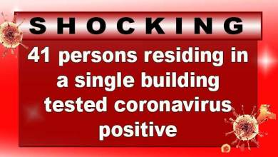 Photo of Delhi: 41 persons residing in a single building tested coronavirus positive