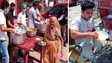 Assam: Sri Sathya Sai Seva Organisation distributes prepared lunch to economically marginalised people