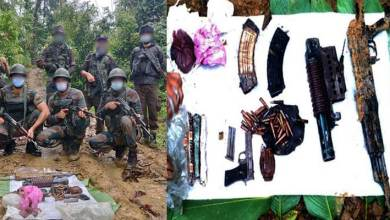Arunachal: Army recovers arms cache in Changlang