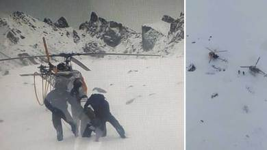 Photo of Sikkim: Army Troops, IAF Helicopters Evacuate Stranded IAF Crew from Icy heights