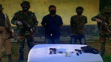 Photo of Assam: Army apprehends two NSCN(IM) cadres in Tinsukia