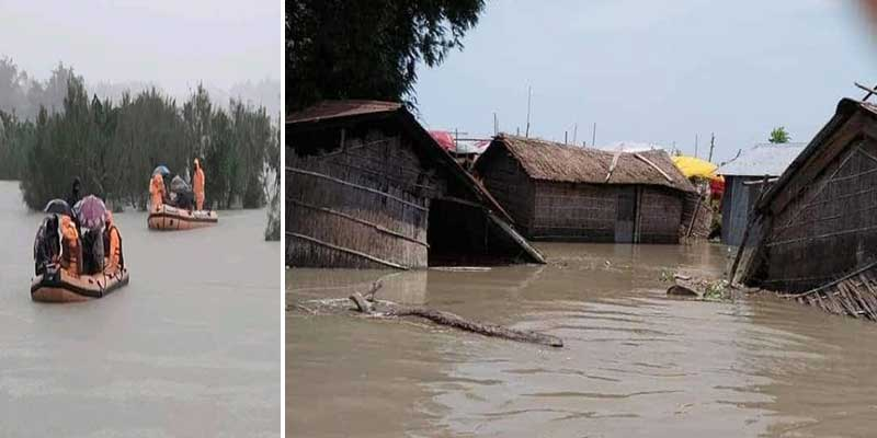 Assam Flood situation remains grim, 96 dead, over 28 lakh people affected