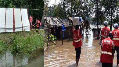 Assam Floods: Indian Red Cross teams are on the ground providing shelter and relief aid to the most vulnerable