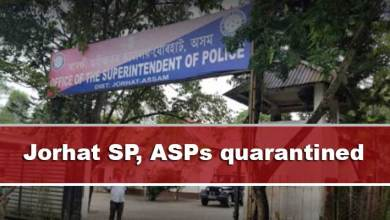 Assam: Jorhat SP, ASPs quarantined after two constables found Covid positive
