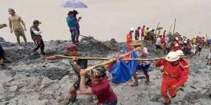 Myanmar: landslide in Jade mine kills over 160 people