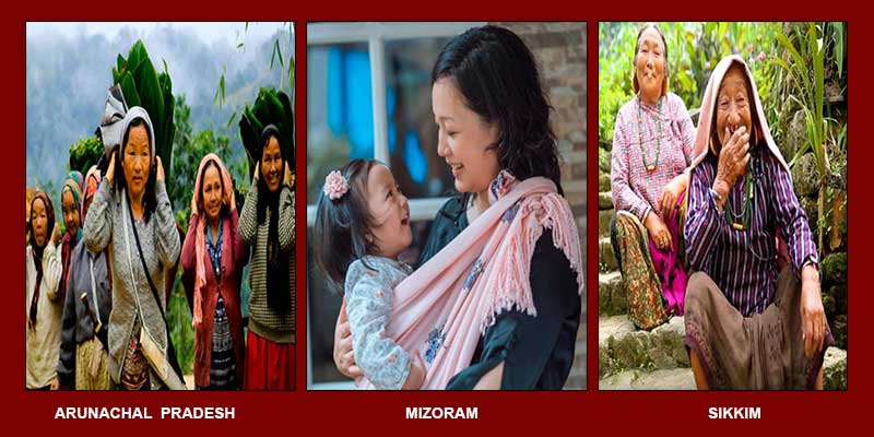 Mizoram, Sikkim, and Arunachal among India's top10 happy states