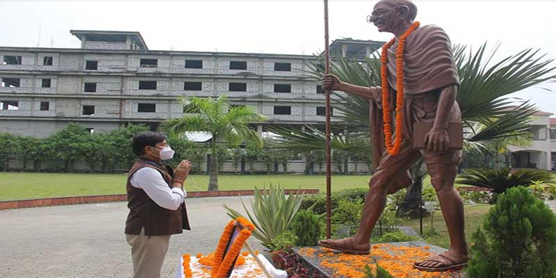 "Assam:  ""Two-year long commemoration of the 150th Birth Anniversary of Mahatma Gandhi'"