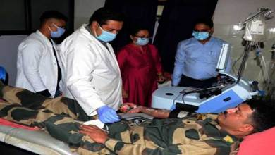 Meghalaya: Plasma donation camp organized by BSF at neigrihms
