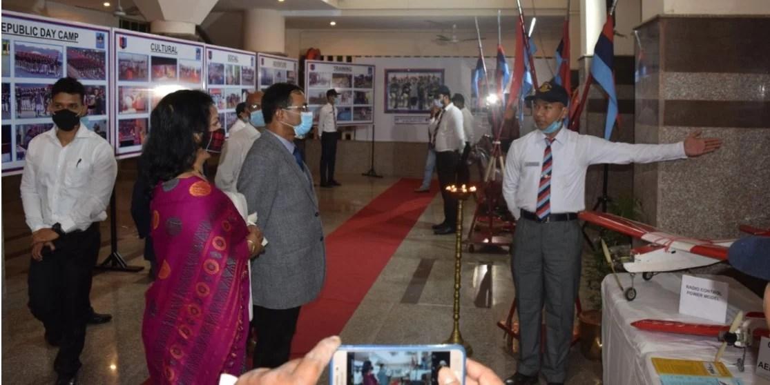 Assam:NCC exhibition at Guwahati