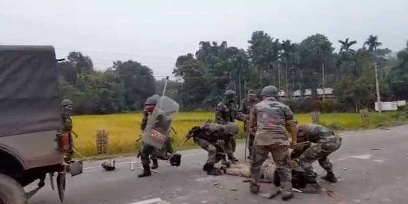 Tripura: 1 Dead, 4 Injured as Police fire at protesters near Kanchanpur