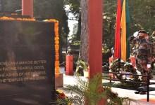 Meghalaya: Vijay Diwas celebrated at Rhino War Memorial Shillong