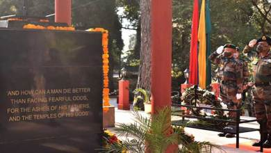 Meghalaya: Vijay Diwas celebrated at Rhino War Memorial Shillong