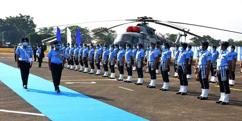 Assam: AOC-in-C EAC visits Air Force Station Kumbhirgram