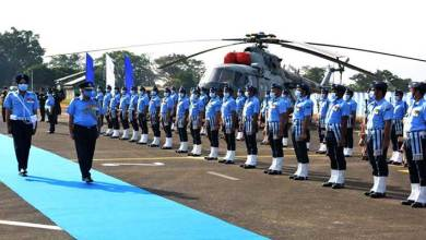 Assam: AOC-in-C EAC visits Air Force Station Kumbhirgram