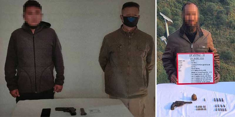 Nagaland: Security forces apprehend one armed cadre in Dimapur