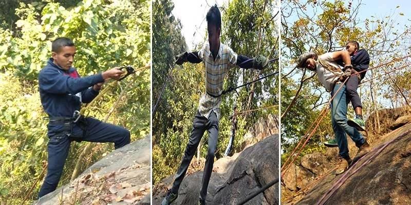 Assam: 52nd Annual Rock Climbing Training Course held