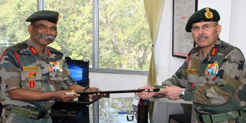 Assam: Lt Gen Ravin Khosla Takes Charge as New Goc Gajraj Corps