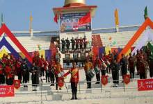 Manipur: Impressive band display by Indian Army to pay tribute to the covid warriors in Imphal