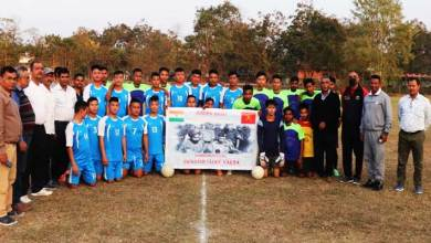 Assam: Friendly Football Match between Indian Army and Doomdooma Sports club
