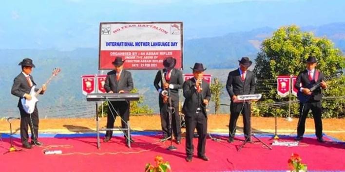 Manipur: Assam Rifles celebrates International Mother Language Day