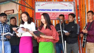 Manipur:  Assam Rifles celebrates International Mother Language Day
