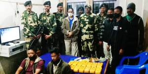 Mizoram: BSF arrest two men with drugs worth Rs 7.29 Cr