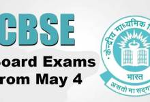CBSE Board Exams From May 4