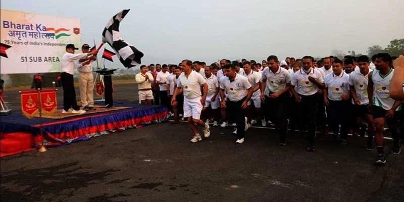 Assam: Indian Army organises Victory Run in Guwahati