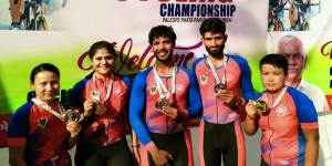 Assam:  NFR sportspersons bag Gold medals in 25th National Road Cycling Championship