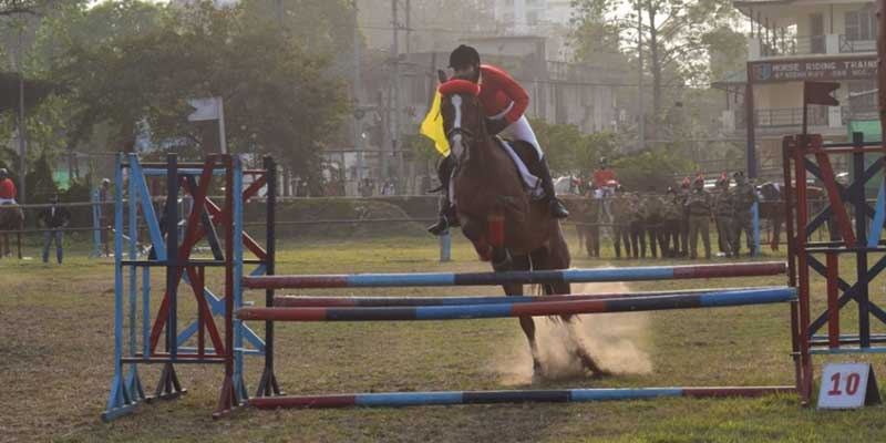 Assam: Horse Show- 2021 by 47 R&V Squadron NCC
