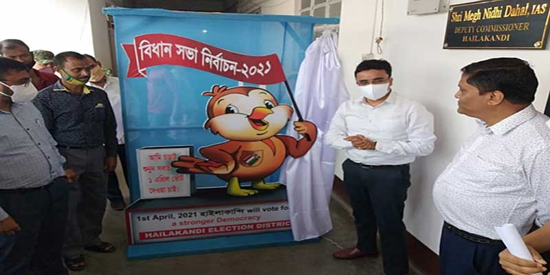 Assam: Sparrow unveiled as Mascot to woo voters in Hailakandi election district