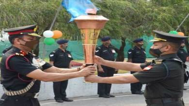 Sikkim: Victory flame reaches Sukna