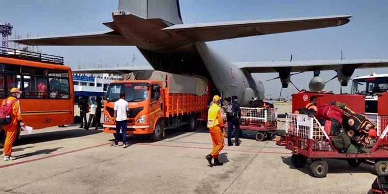 IAF Braces For Cyclone YAAS