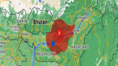 Earthquake of 3.3 magnitude hits Assam's Sonitpur again