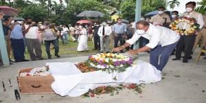 Assam:Ministers Suklabaidya, Brahma visit residence of deceased MLA Majendra Narzary