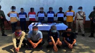 Nagaland: Security Forces apprehends 7 Cadres, 4 OGWs of Nikki Sumi Group