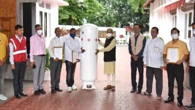 Assam: Governor Handed Over Oxygen Generators to Red Cross Hospitals